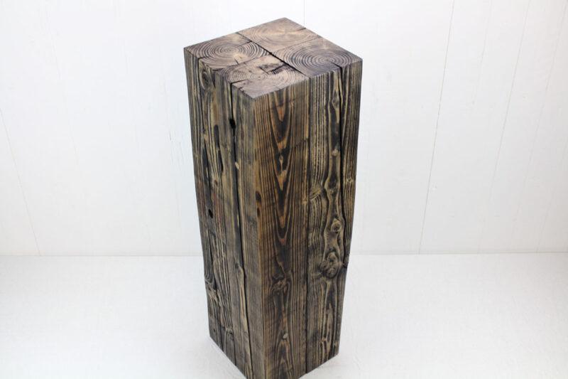 pedestal i genbrugstræ 80 cm