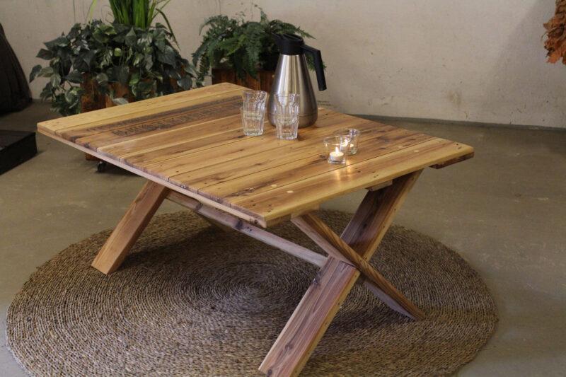 Sofabord med krydsben idalund design