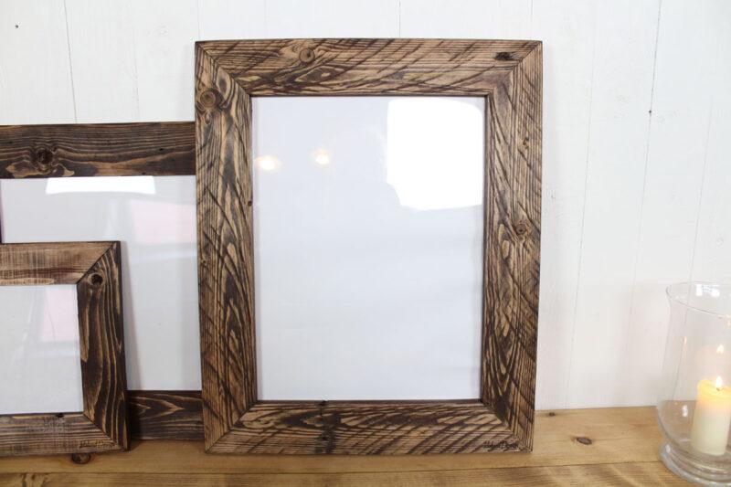 Billedramme i træ mørkebrun 30x40 cm